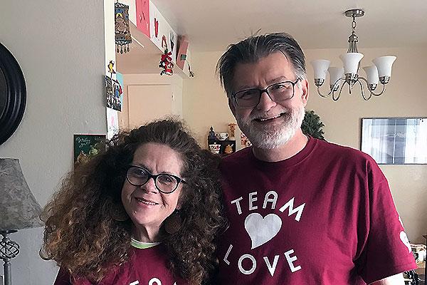 Photograph of Kathy and Michael Reardon